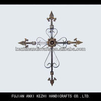 unique wrought iron religious cross