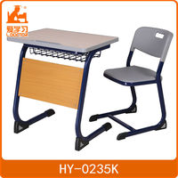 fashionable ercnomic school sketching desk and chair