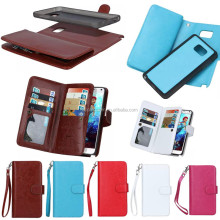 Wholesale 9 Card Slot Wallet Leather Case for LG G3, For LG G3 Leather phone Case