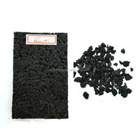 "Recycled Rubber Granules Prices For 1"" Thick Rubber Flooring FN-E16030123"