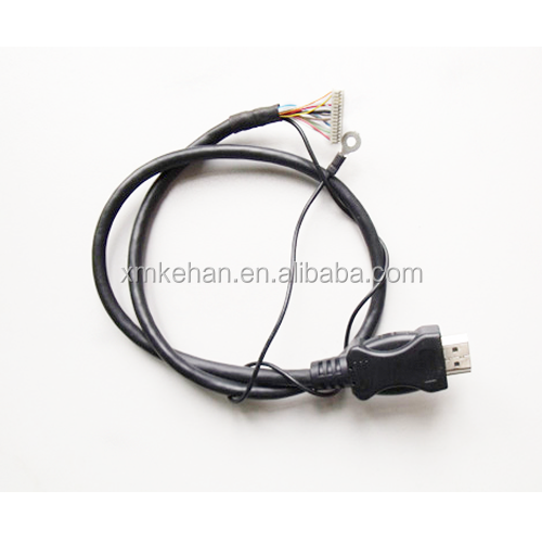 OEM ODM RoHS compliant professional Lvds to hdmi cable