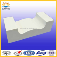Glass Furnace Forehearth Fusion Cast Refractory Bricks and Cement