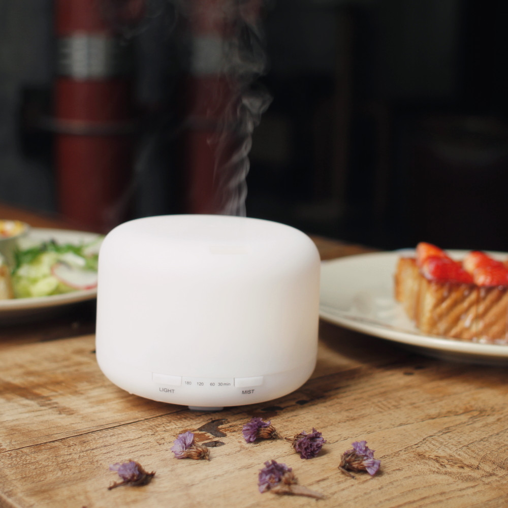 Office Mini Usb Essential Oil Diffuser / Electronic Cool Mist Aroma Difuser / Ultrasonic Diffuser Aromatherapy