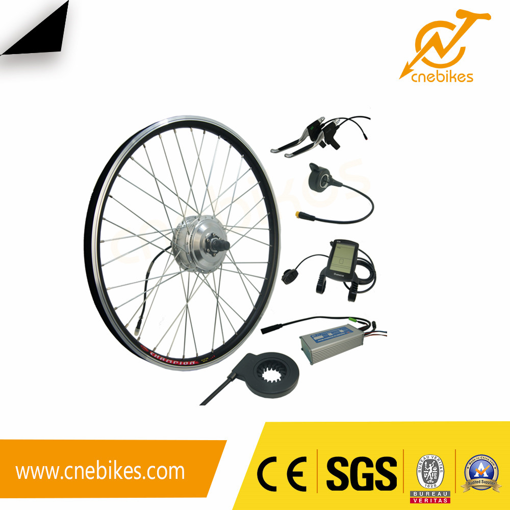 36v 250w small geared electric bicycle bldc hub motor waterproof kit with Kingmeter LCD display