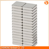 Wholesale strong square neodymium magnets with customized size from China