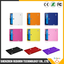 "New 7"" Inch Protective Soft Gel Silicone Case For Q88 Google Tablet PC MID Q88 Cases Multi Colors Wholesale Tablet Cover"