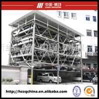 Multi-Layer automated car parking elevator used outdoor car lifts for sale