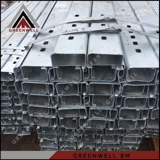 Metal suppliers building material galvanized steel c roof purlin