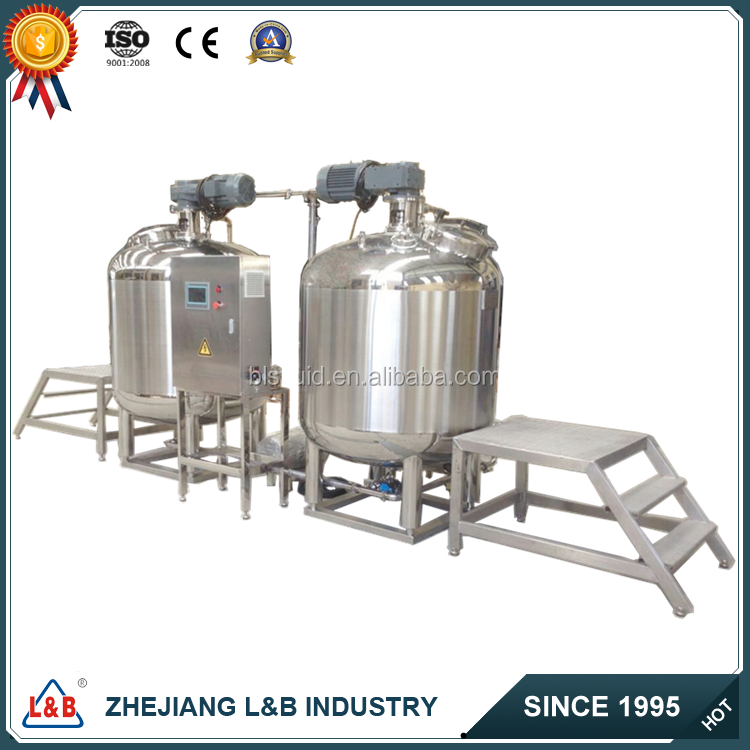 500L hot-selling emulsifying equipment/emulsion paint mixing machine