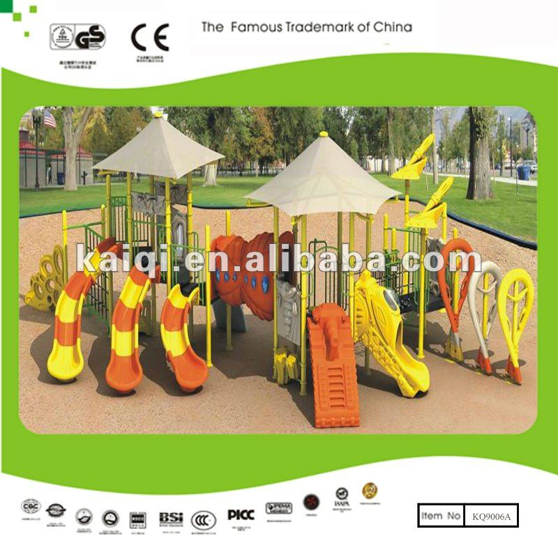 Commercial Equipment Playground with Long Slides Rhyme of Sea Sailing Series-with happiness