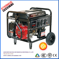 Compacting Manual 5kw 230V Gasoline generator BH7500S