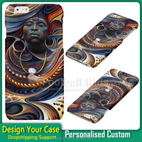 wholesale African art Style Pattern PC Hard Phone Case for iPhone 6 6s , bulk custom case for iphone 6s