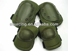 Outdoor Sports Tactical Combat Knee & Elbow Protective Pads Skate Knee Pads Sports Protector Green