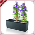 Wholesales garden planter for flowers and plants with plastic planter pot
