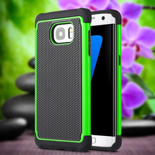 Football Pattern Soft Silicon TPU Case Back Hard PC Cover Hybrid Armor For Samsung Galaxy s4mini i9190 Cell phone