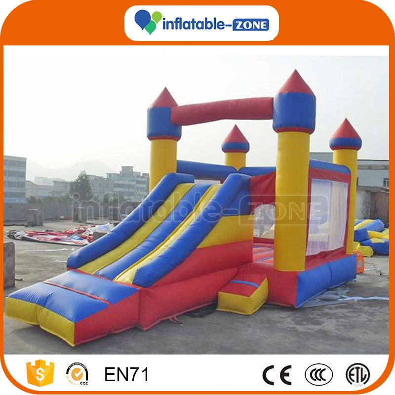 New arrival cheap inflatable water slide spongebob squarepants inflatable minions slide