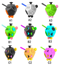 Fidget Cube 12 Sides Dodecagon Toy Stress and Anxiety Relief Relax for Children and Adults ADD/ADHD/OCD and Autisme Focus Distra