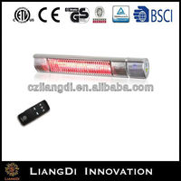 electric infrared heater with remote control IP65 cavitation heater