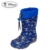Boys Football Print Lighted Up PVC Rain Boots