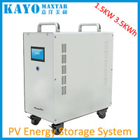 2KW 220V 4kwh complete solar electricity home energy system ess portable solar power generator