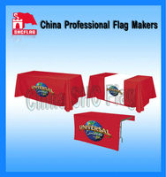 Custom Christmas Waterproof Dining Lycra Table Cover Tablecloth Table Cloth