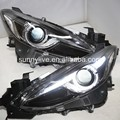 LED Head Lamps OEM style For MAZDA 3 Axela2013-2015 year LD