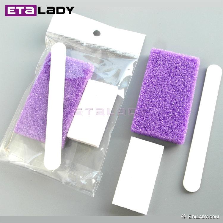 Disposable Pumice Kit Nail Salon Supplies Pumice Pedicure Kit - Buy ...