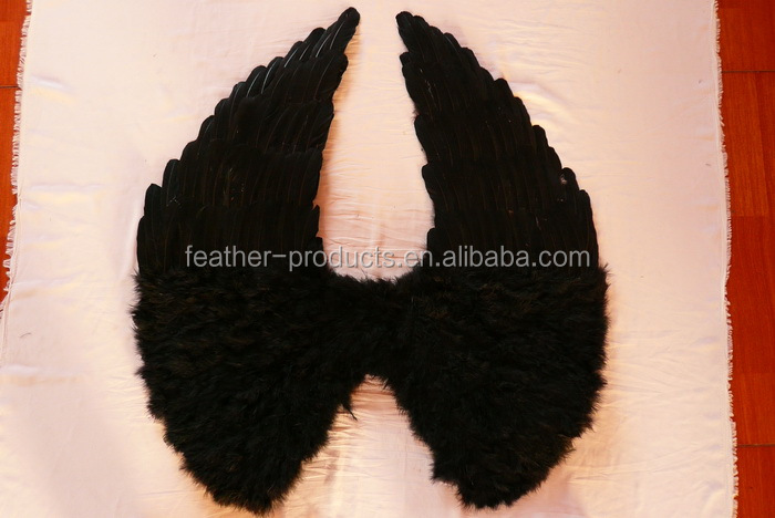 Black angel wings - China manufacturer W-1118