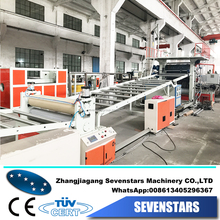 SPC PVC floor making machine for house decoration