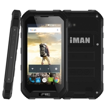 Best quality 4.5 Inch IP67 Waterproof 3G Phone iMAN X5 MTK6580 Quad Core 8GB ROM 5MP Camera Android 5.1 rugged smartphone