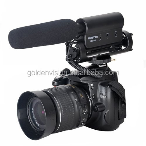 SGC-598 Photography Interview MIC Microphone for Nikon Canon DSLR Camera
