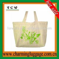 High quality canvas tote bag with logo printing