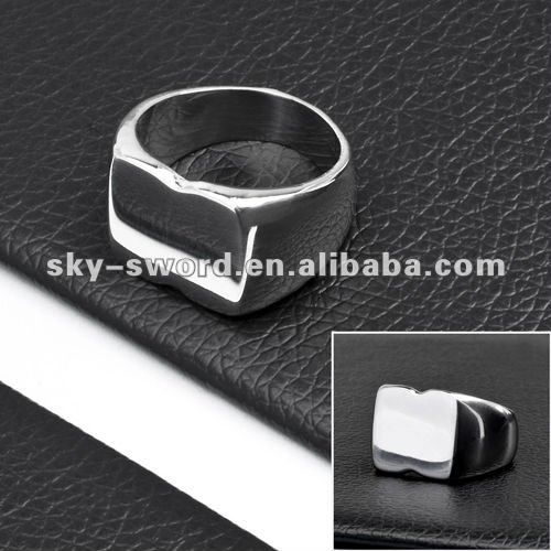 stainless steel pigeon ring