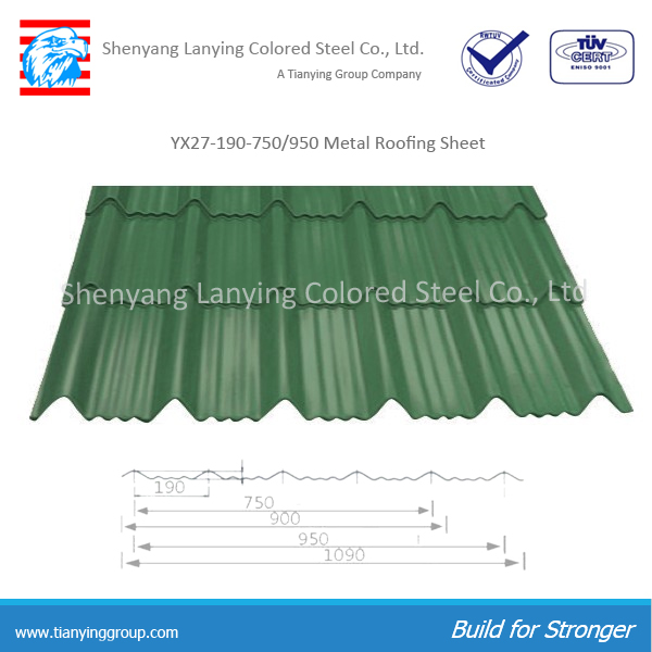 Metal Roofing Product : Corrugated metal roofing sheet yx  buy