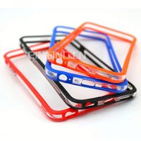 new design pc+tpu colorful frame bumper case for samsung i9070 galaxy s advance