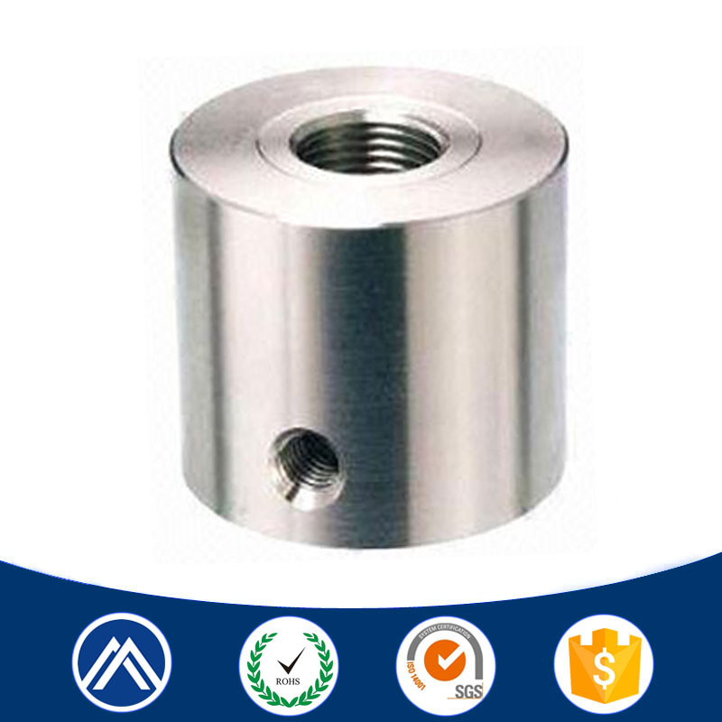 CNC machining parts stainless steel internal threaded cnc part