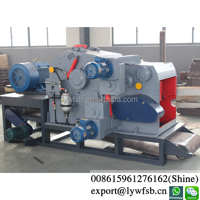 Top quality CE industrial large capacity wood chipper/wood chipping machine with 20years using life