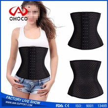 Sexy Women Sport Slimming Body Shaper corset waist trainers hot sell by OHOCO