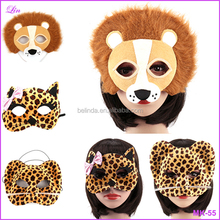 Panda Fox Lion Leopard Wolf Party Party Animal Masks