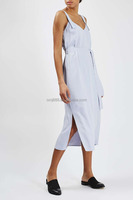 Double Layered Crepe Slip Dress