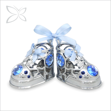 Luxury Sliver Plated Metal Newborn Baby Souvenir