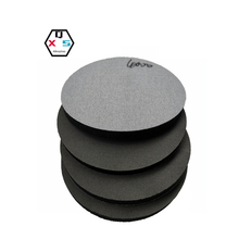 Mobile Phone Case Polishing Hook and Loop Silicon Carbide 5 Inch Sponge Sanding Pad