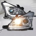 For TOYOTA for AVANZA LED Head Lamp Angel Eyes 2012-2014 year YZ Chrome Housing