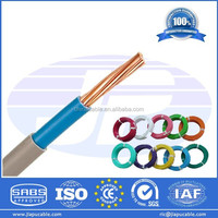 Different Types of Conductor Wire Electrical Wire with PVC Insulation Low Price From Direct Factory