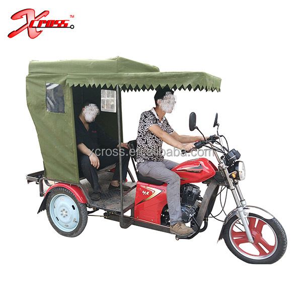 2017 New 150cc RickShaw mototaxi Passenger Tricycle taxi motorcycle Three Wheel bicycle for adults Tuk Tuk For Sale RS150PA
