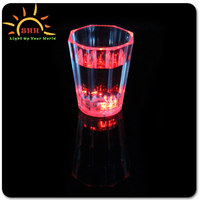 Led Dice Shot Glass/Led Flashing Dice Shot Glass/Shaped Shot Glass