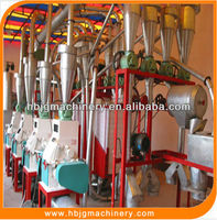 Automatic Corn Milling Plant/corn Flour Grits Production Line For Sale