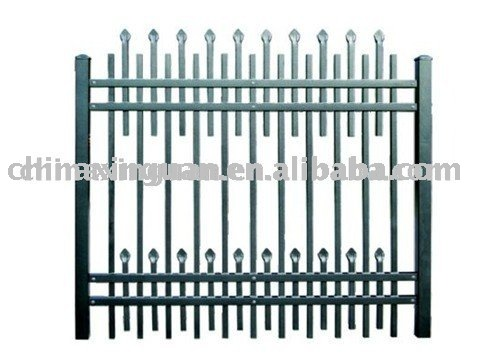 industrial safety steel fence