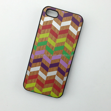 Newest colorful style real wood slim waterproof mobile phone case for iphone5,for iphone6,for iphone6 plus