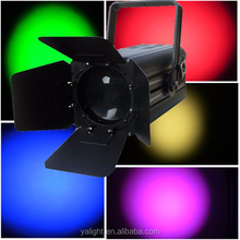 COB Theater Light /200w Fresnel projector/3200k led theater studio profile cob par light